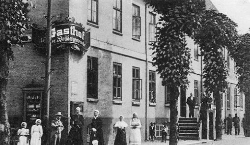 Brødremenighedens hotel ca. 1900