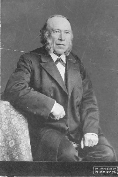 Rebslager Christian August Øster.