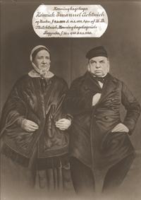 Bager Achtnichs søn Heinrich Immanuel og frue førte honningkage traditionen videre.