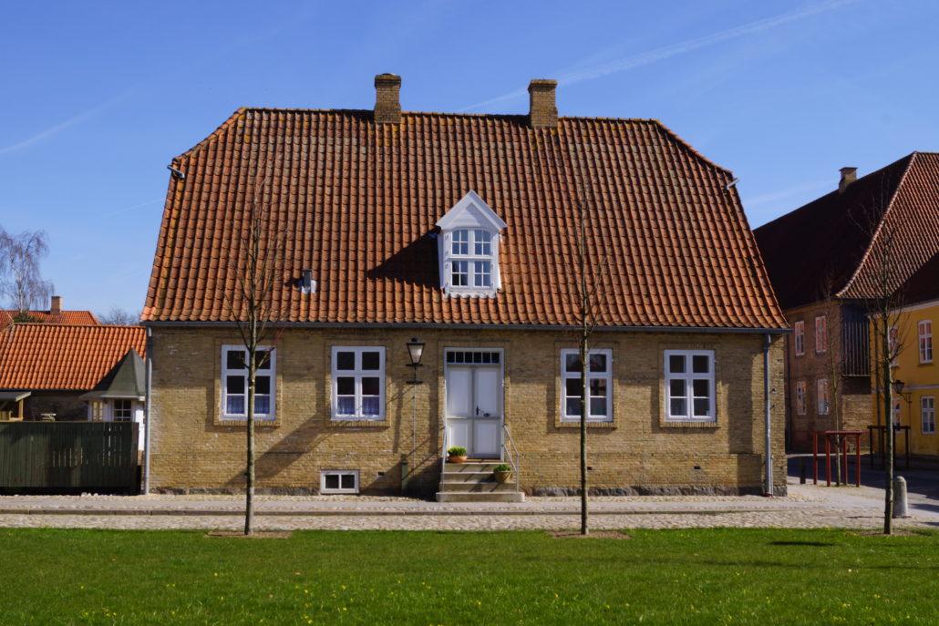 Byens første hus