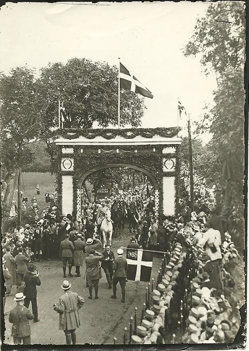 Den Gamle Grænse ved Frederikshøj 1920 - Foto, Eva Kristensen (2)