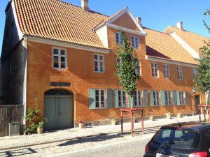 Det gamle apotek i Lindegade.
