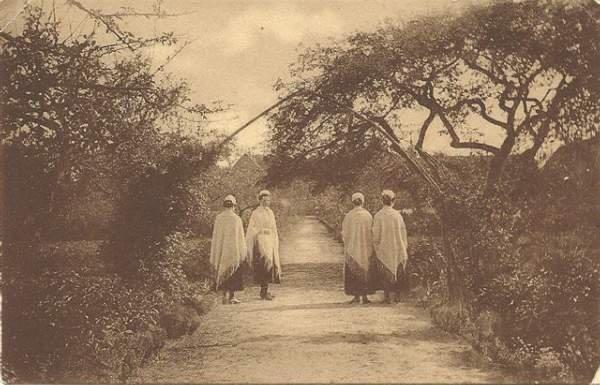 Søstre i Søstrehushaven ca. år 1900.