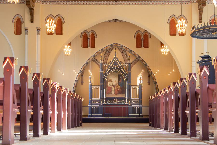 Tyrstrup Kirke - Foto Eva Kristensen